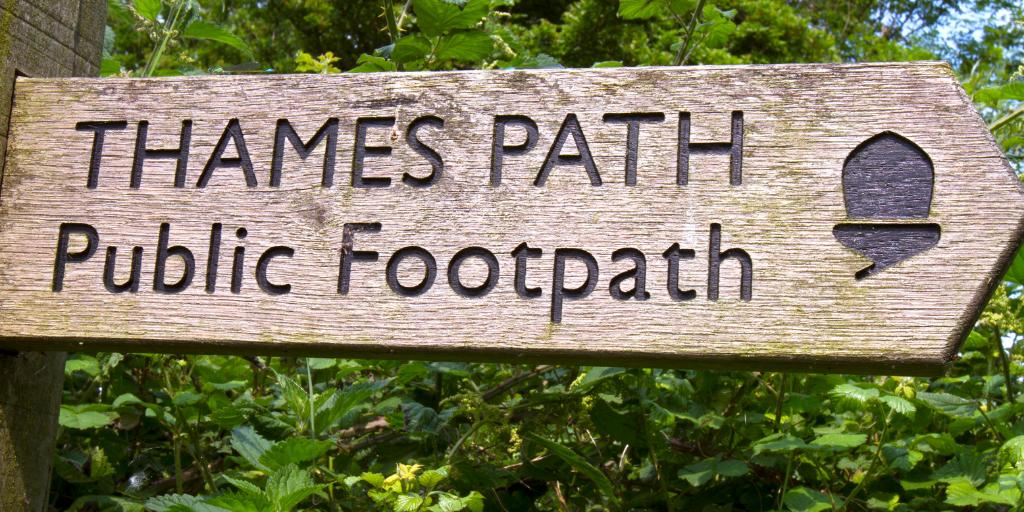 Thames Path - best walks in Britain