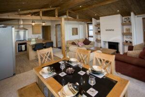 luxury golf lodge interior, norfolk