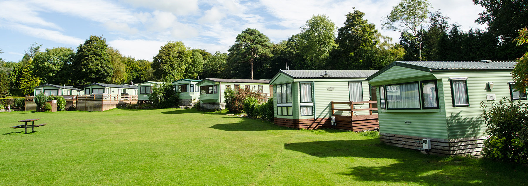 Caravan Sites Camping Pods In Cumbria Fell End