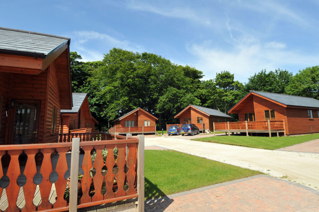 Log Cabins and Golf Lodges at Bridlington Links