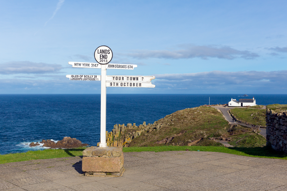 Land's End to St Ives