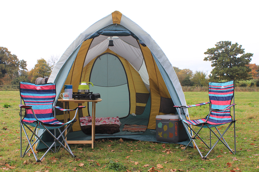 easy set up car camping tent