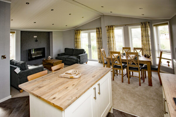 Golf lodge interior, Bridlington