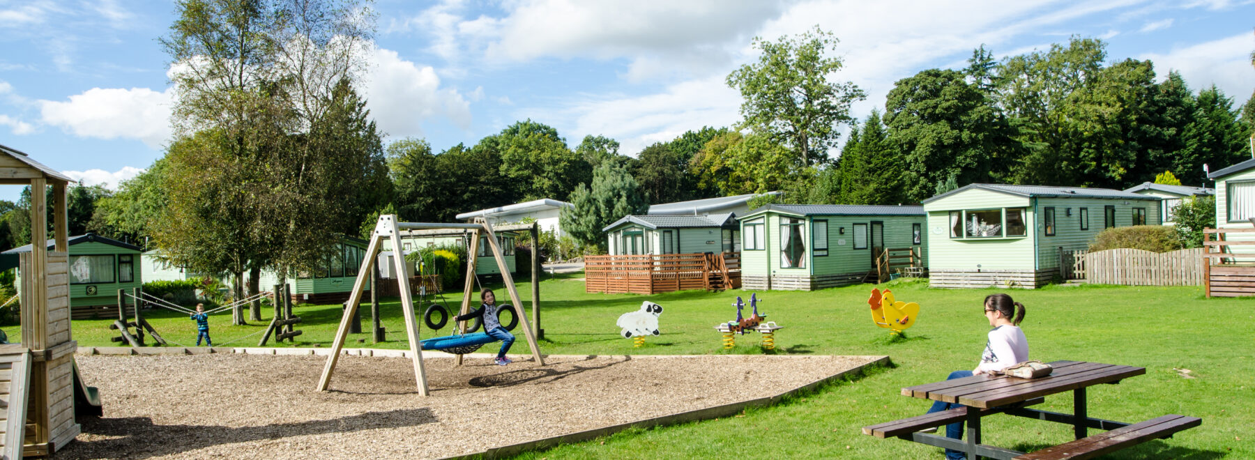 Play area at Fell End