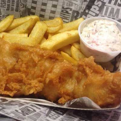 Lancashire fish and chips