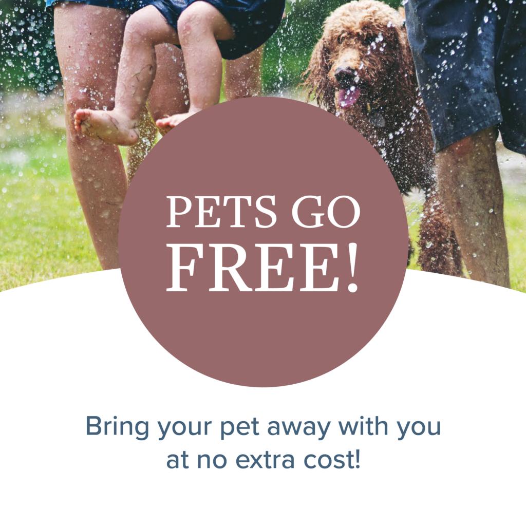 Pets Go Free!