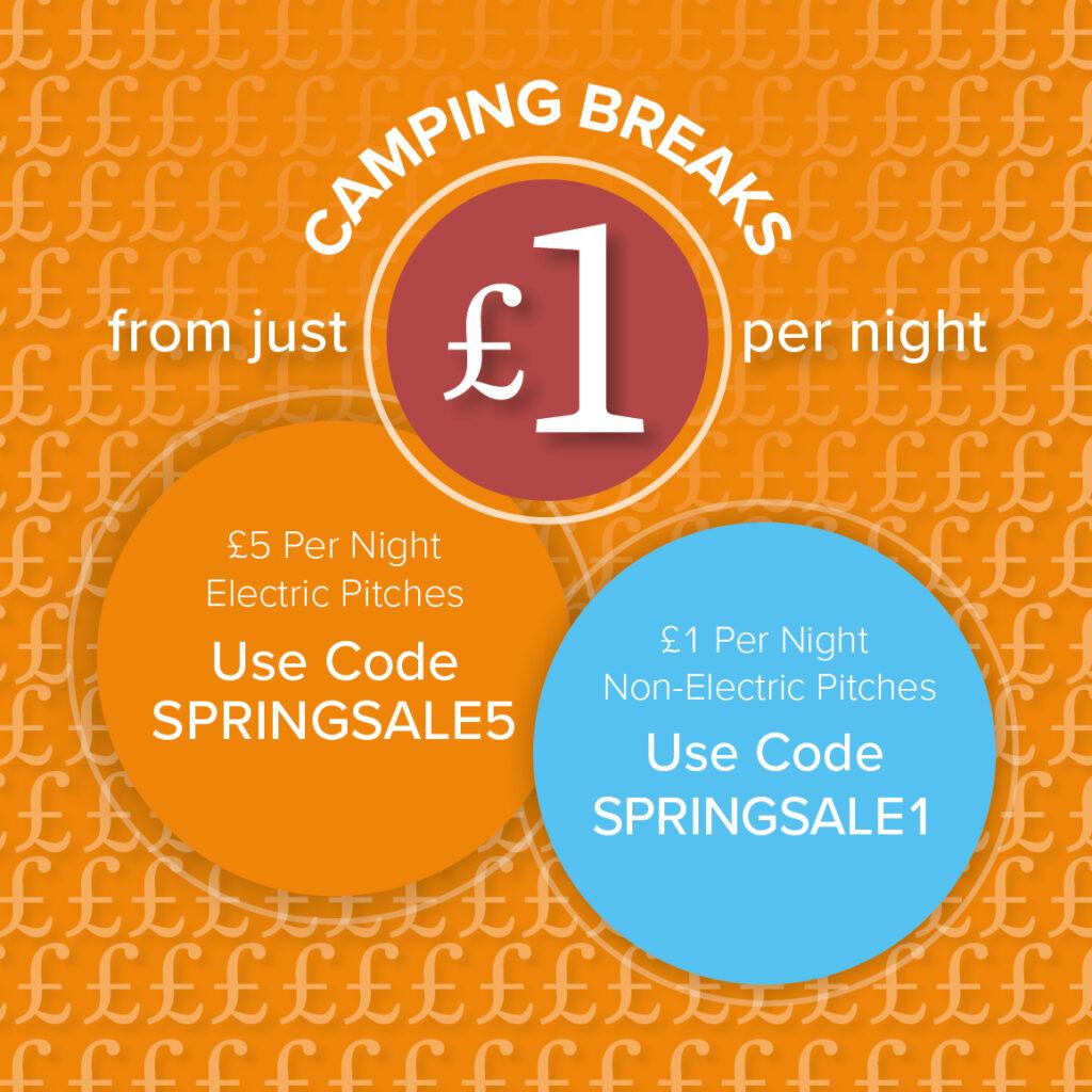 £1 Camping Breaks