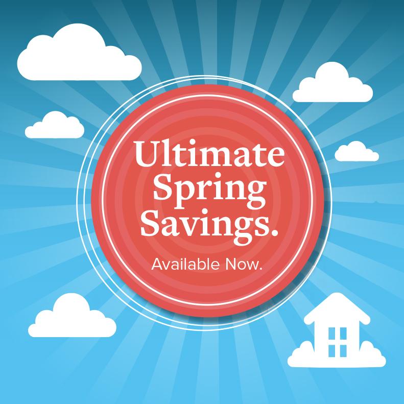 Ultimate Spring Savings