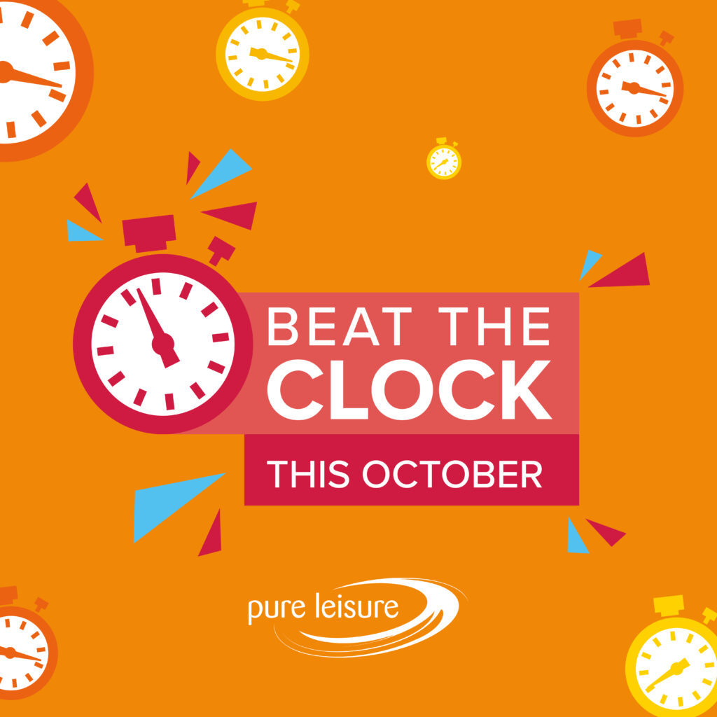Beat the Clock this October!