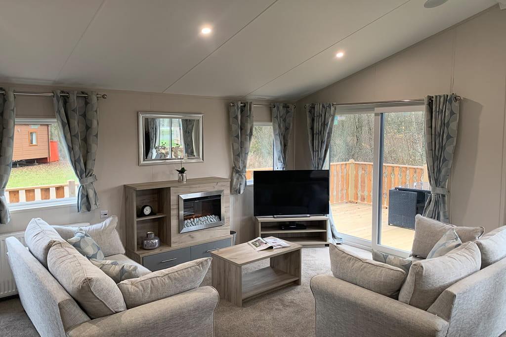 Sherwood 35 Living Area