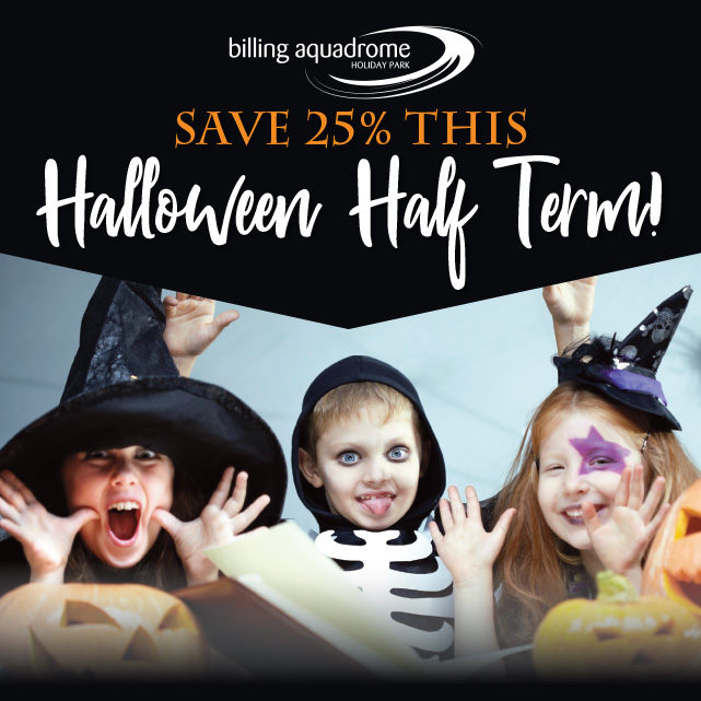 Save 25% this Halloween!