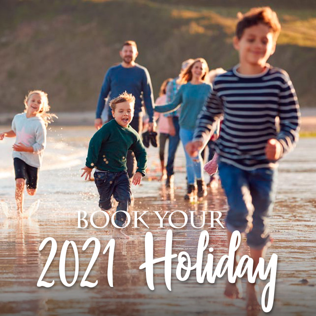 Save 15% on your 2021 Holiday!