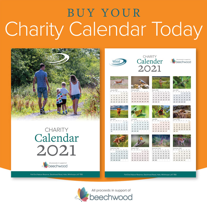 Fell End Nature Reserve Charity Calendar