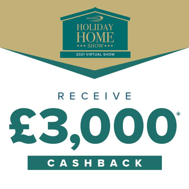 Receive £3000 Cashback!